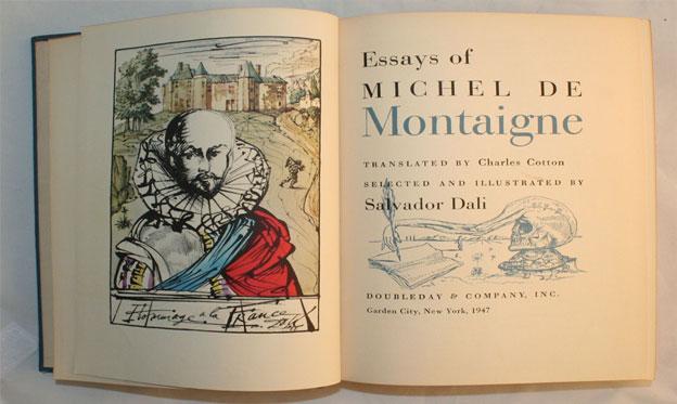 Montaigne y los Ensayos de Michel de Montaigne