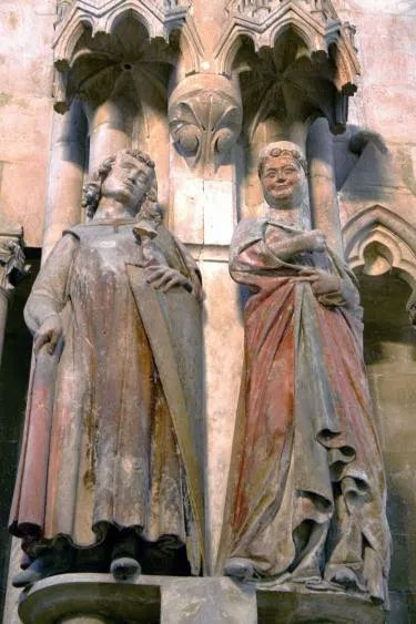 Germán y Regelinda / Imagen: Linsengericht en Wikimedia Commons