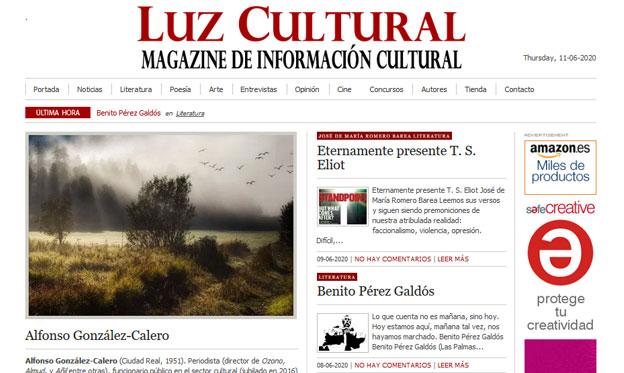 Inicio Diario Digital Luz Cultural
