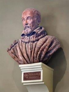Busto del canciller Guillermo de Nogaret (anónimo)