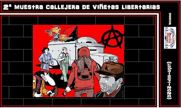 2ª Muestra Callejera de Viñetas Libertarias
