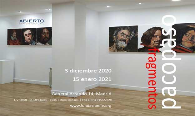 """""""fragmentos"""", nueva exposición de pacopaso en Madrid"""