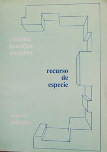 libro Cristina Mendiry