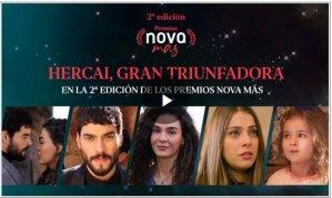 'Hercai' se convierte en la gran triunfadora de la 2ª Edición de los Premios Nova Más