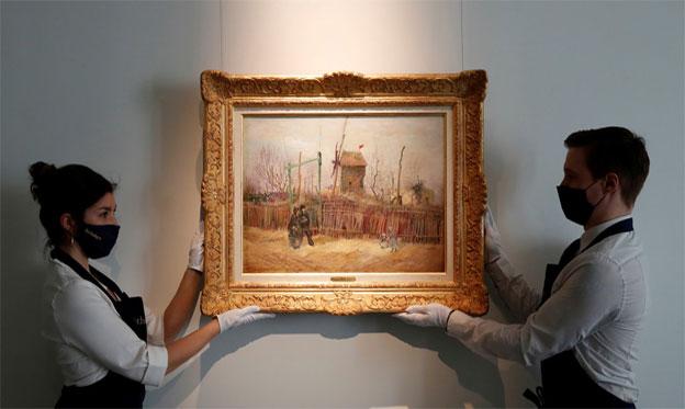 Pintura de Van Gogh desconocida para el público es subastada por más de 15,4 millones de dólares