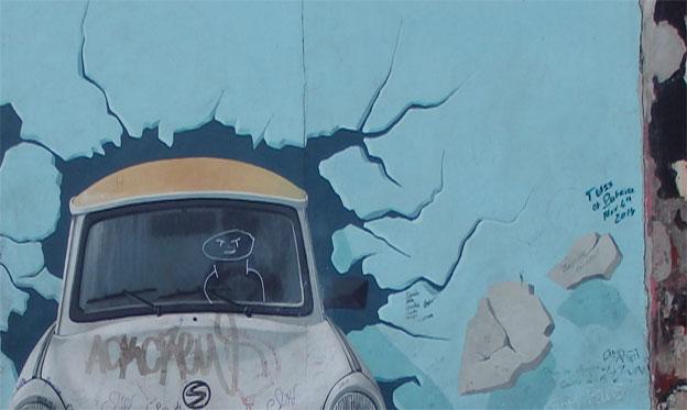 El Muro Se Hace Carne En Berlín