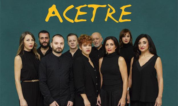 Acetre estrena nuevo trabajo 'A la casa de las locas' con melodías y tonadas antiguas que resuenan frescas y actuales