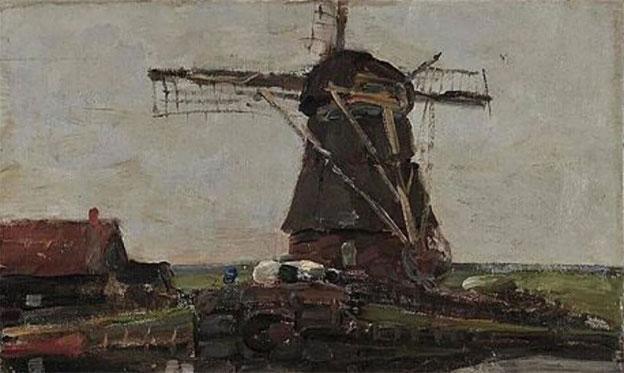 'Molino', de Piet Mondrian (1905).