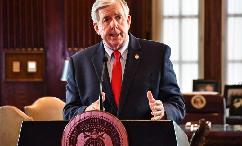 Gobernador de Missouri, Michael Parson anuncia plan de reapertura de Missouri