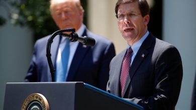 Photo of El jefe del Pentágono desafía a Trump