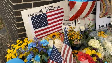 Memorial para el Agente de Policía Muerto Tamarris Bohannon