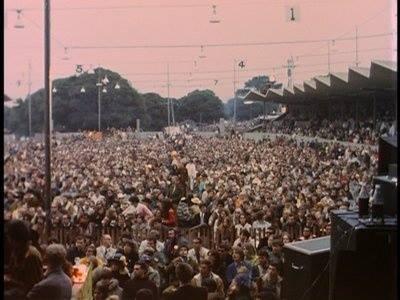 Il pubblico del Monterey Pop Festival