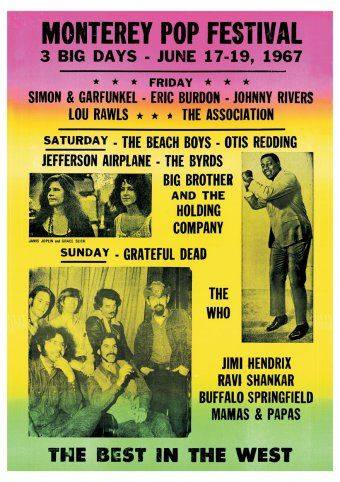 Monterey Pop Festival, The Best in the West