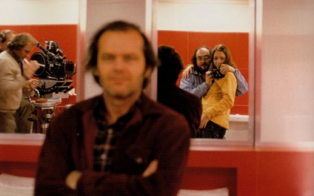 Shining, una foto dal set