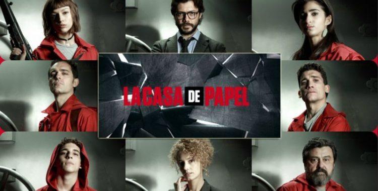 La Casa De Papel, alcuni protagonisti della serie