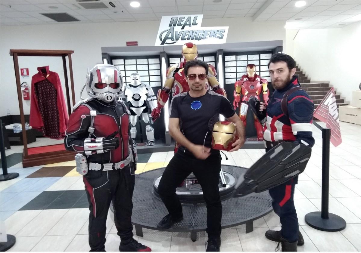 Lucania is Comics 2018. La nostra intervista al gruppo Real Avengers di Taranto