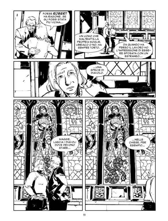 Samuel Stern, il fumetto