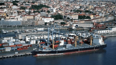 Photo of Movimento portuário cai de 9,3% para 34,2 milhões de toneladas
