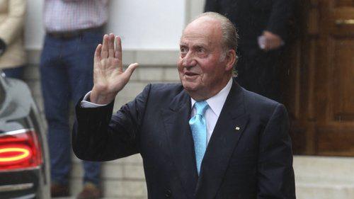 Juan Carlos sai de Espanha