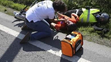 Photo of Colisão deixou ciclista e bandeira amarela em estado grave