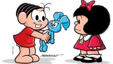 Photo of 'Pai' de Mônica homenageou 'Pai' de Mafalda
