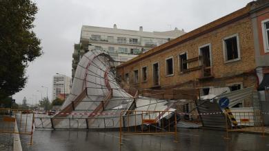Photo of Depressão Bárbara faz estragos em Setúbal. Condições meteorológicas agravam-se hoje