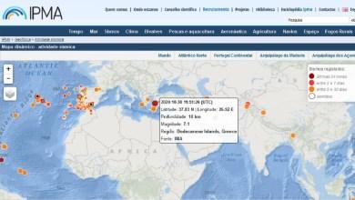 Photo of Sismo de magnitude 7,1 sentido na Grécia e na Turquia