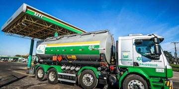 Caminhão-tanque em refinaria da Petrobras em Canoas (RS)  02/03/2019 REUTERS/Diego Vara