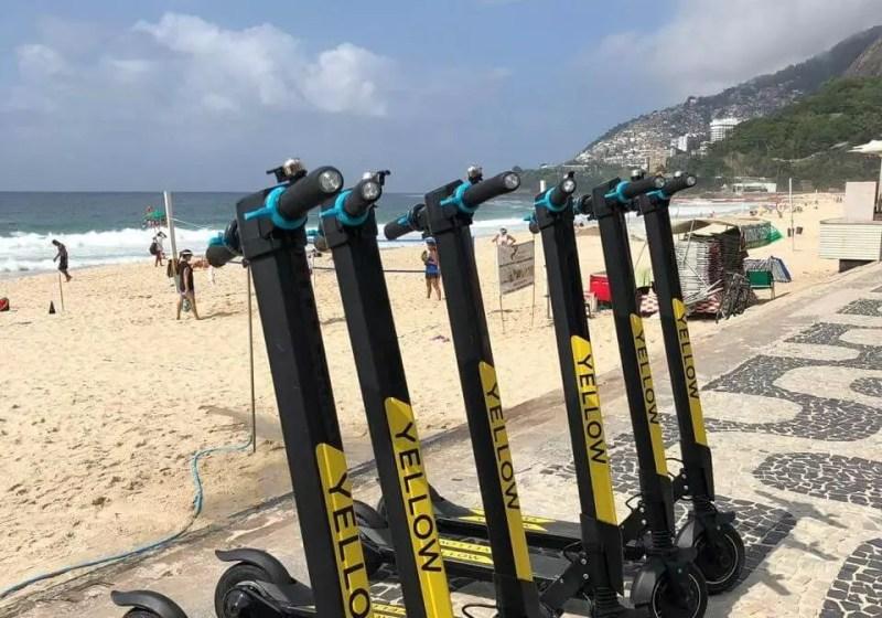 Rio terá aluguel de patinete elétrico - Diário do Rio de Janeiro