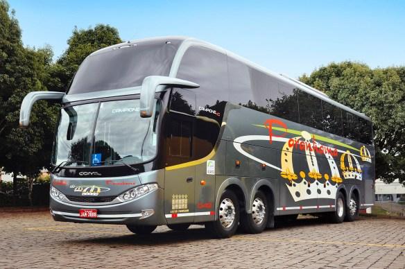 Produção de ônibus começa o ano em alta