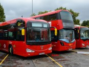 bus eletric london