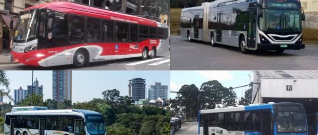 ônibus poluição