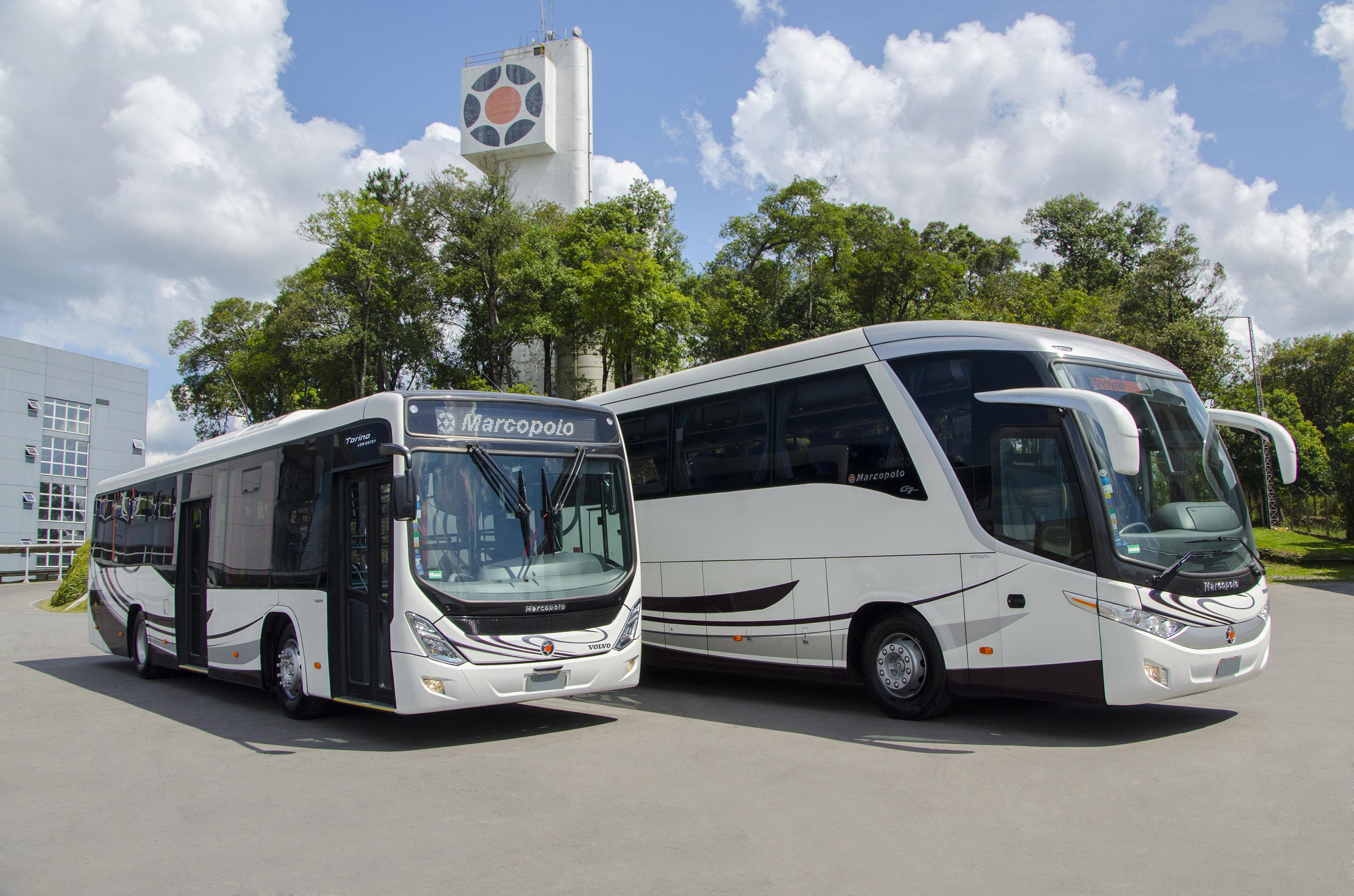 marcopolo anuncia a venda de 37 ônibus para serviços em