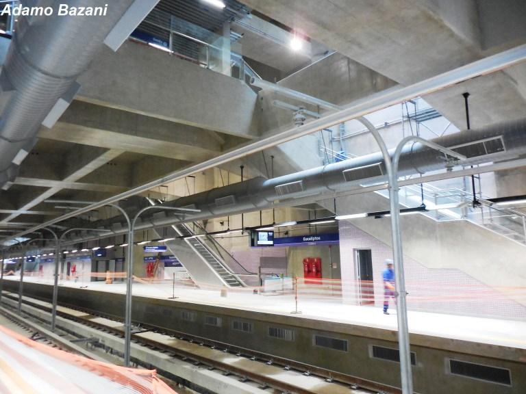c91b3b02131a Metrô promete inaugurar Estação Eucaliptos da Linha 5-Lilás até o fim desta  semana