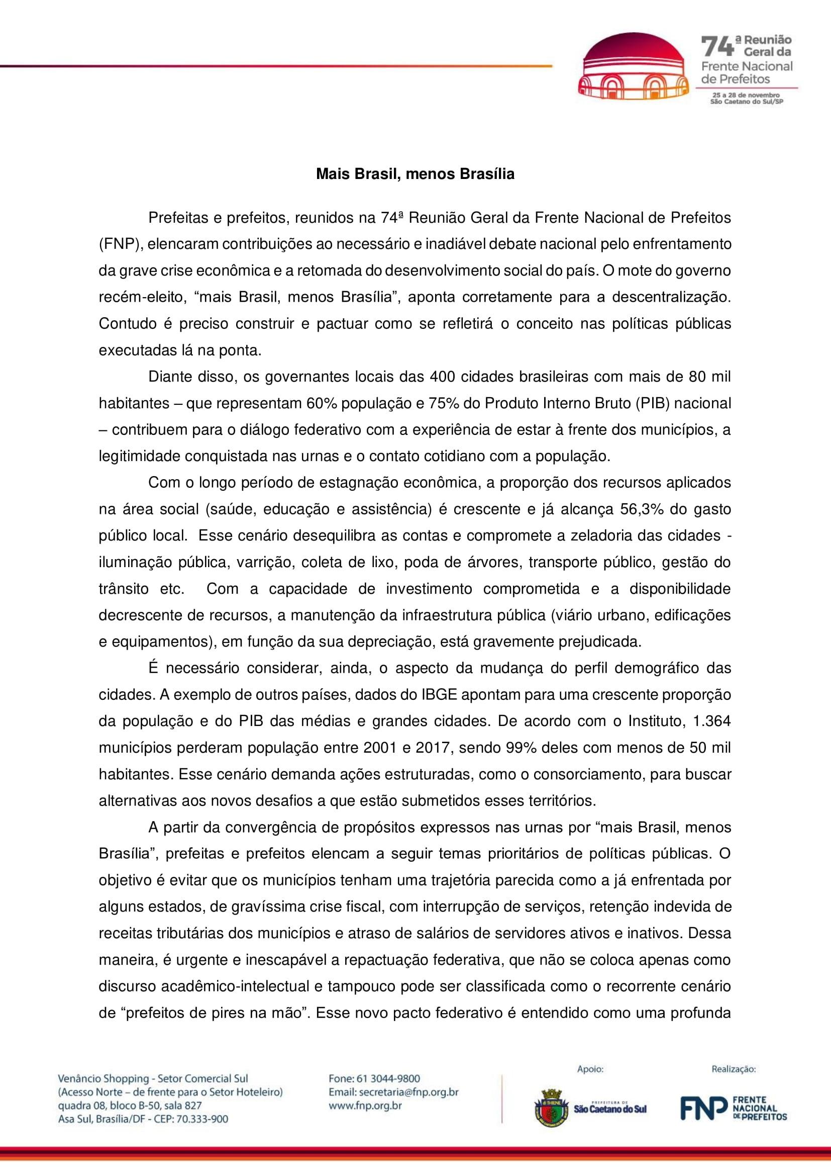 MAIS BRASIL, MENOS BRASÍLIA - VERSÃO FINAL-1