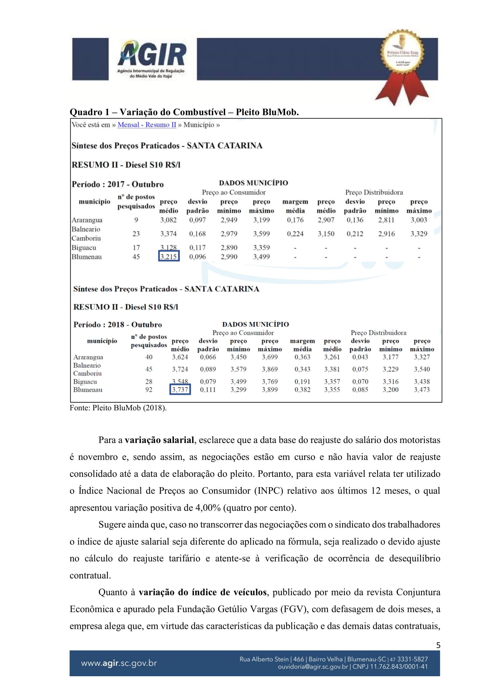 Parecer Administrativo nº 70-2018-05