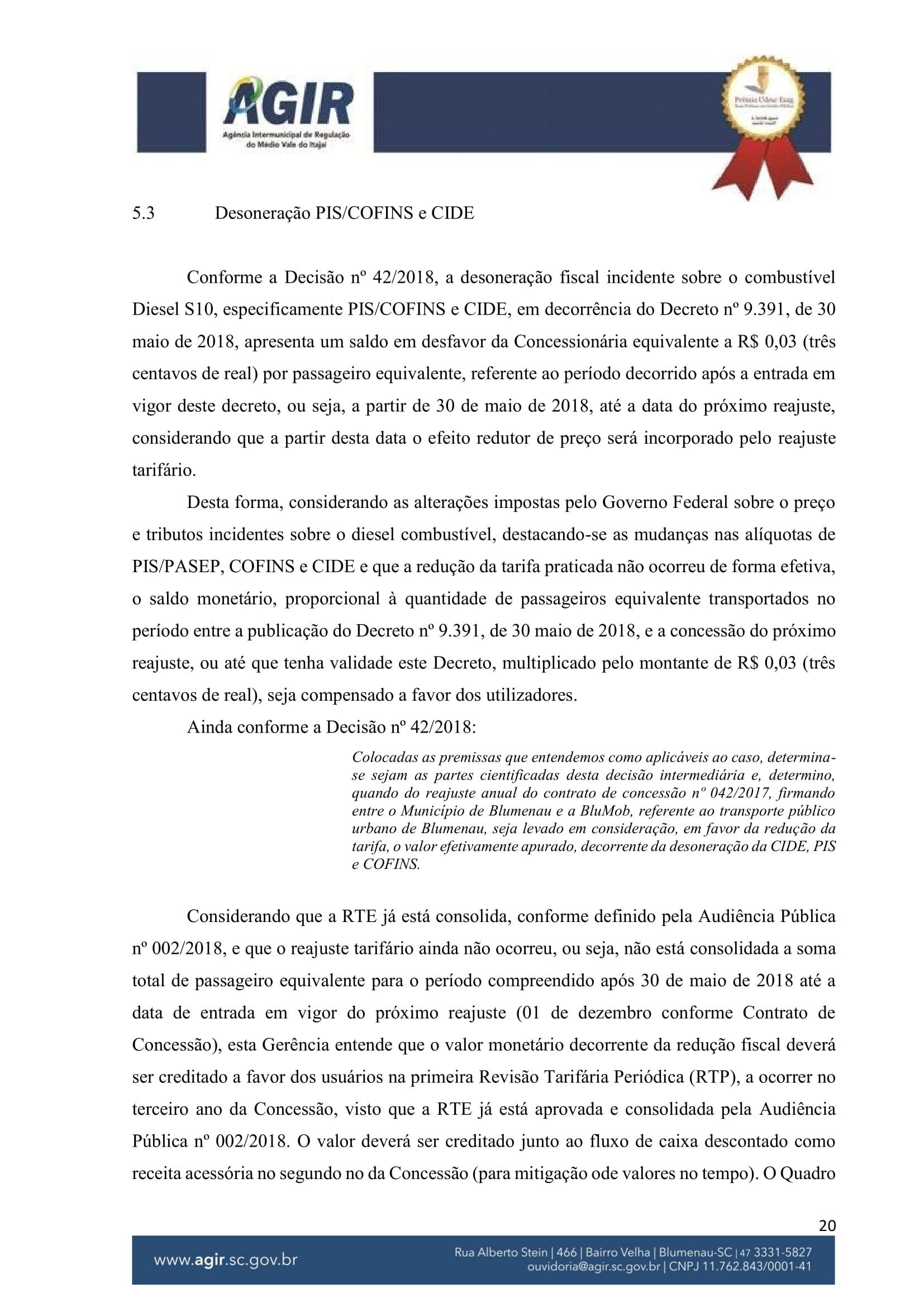 Parecer Administrativo nº 70-2018-20