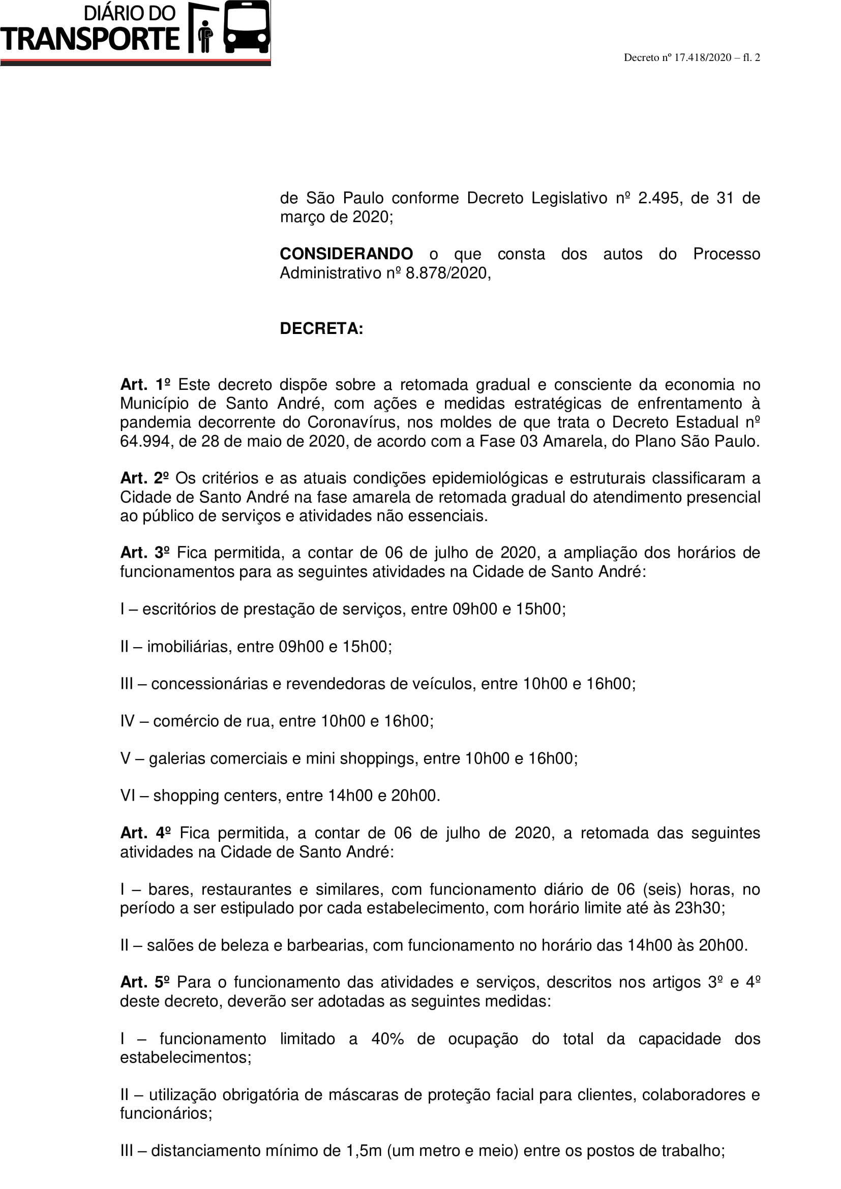 Decreto nº 17.418 (Retomada gradual e consciente da economia - fase amarela)-2