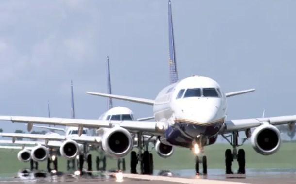Demanda por voos domésticos sobe 7,5% em dezembro