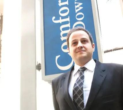 Danilo Figueiredo, gerente de vendas do Confort Downtown, fala ao DIÁRIO