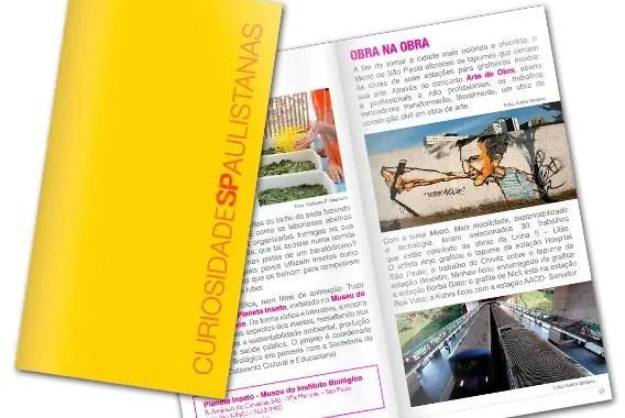 SPCVB lança livro 'Curiosidades Paulistanas'