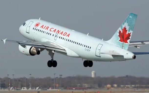 Air Canada tem recorde na taxa de ocupação em janeiro