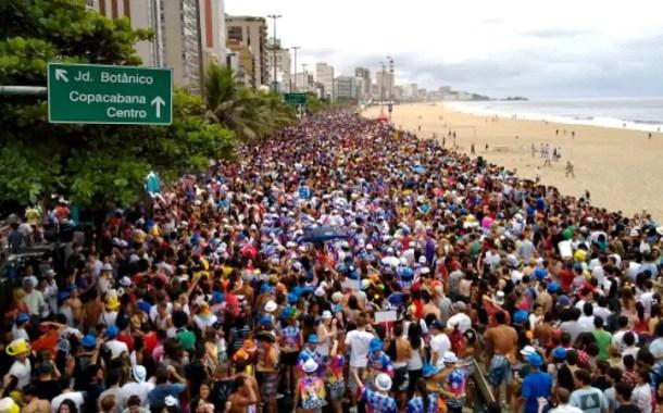 977 mil turistas visitaram o Rio de Janeiro durante o Carnaval