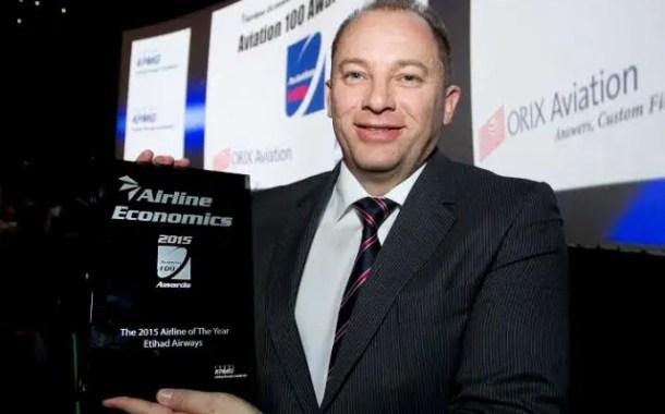 Etihad Airways recebe prêmio máximo de revista
