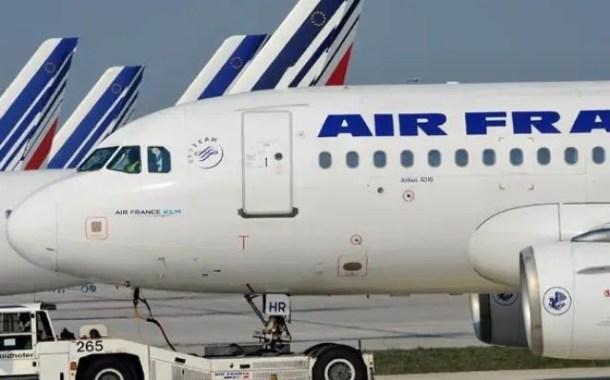Ministro francês descarta nacionalização da Air France