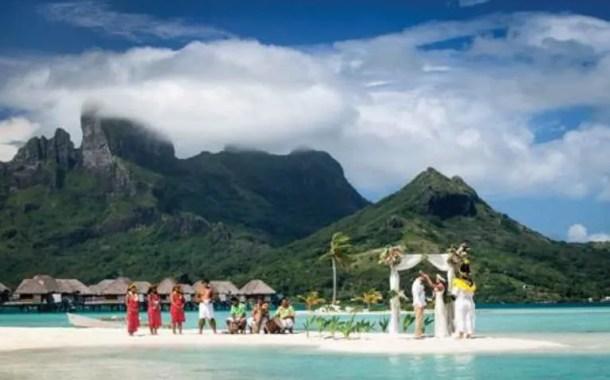 CVC agora tem roteiro para casamento no Tahiti