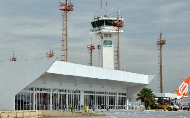 Obras no Aeroporto Santa Genoveva devem dobrar capacidade do terminal