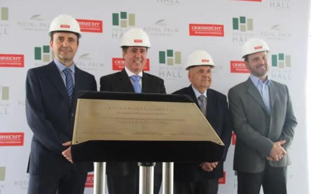 Pedra fundamental do Royal Campinas Conventions Business & Hotel é lançada
