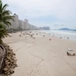 Praias do Litoral de São Paulo são invadidas no fim do ano