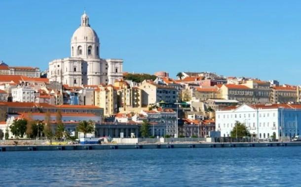 Os belos terraços de Lisboa